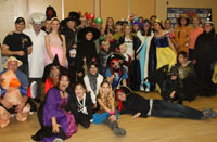 Organizers, volunteers and guests of the third annual Kids Are Super Gala donned costumes and participated in activities to benefit their local shelter Nelson House in Ottawa, Ontario.