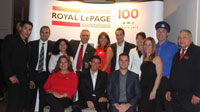 Organizers and guests of the Royal LePage Patrimoine 'Casino Royal.'
