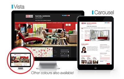 New layouts for ClientClick Agent Pro PLUS websites – Vista