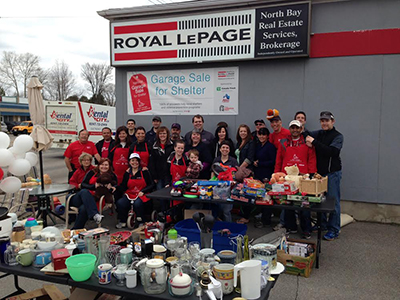 Best Team Spirit: Royal LePage North Bay Real Estate Services, North Bay, ON