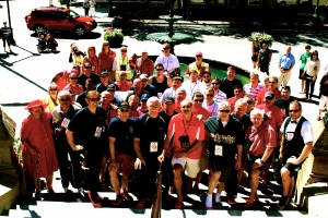 Walk a Mile in Her Shoes® participants in Fredericton, NB