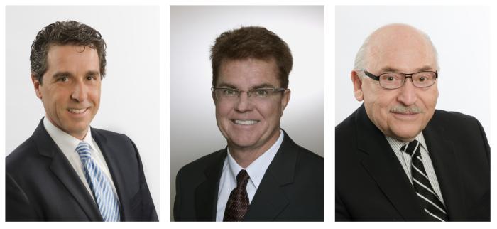 Carlo Racioppo, Gary Reed, Dan Levy