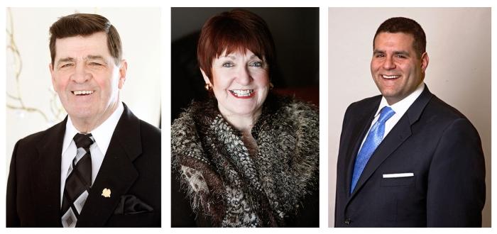 Ed Vigneau, Nora Landry, Ralph Stephen