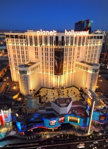 Planet Hollywood from Cosmopolitan Suites