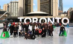 Beards on Ice skaters in Toronto, ON