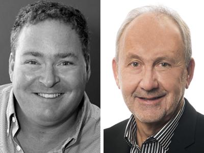 Desmond von Teichman and Robb Atkinson